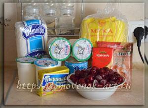 торт Монастырская изба ингредиенты