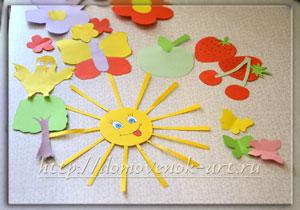 Поделки из цветной бумаги детские подвеска на люстру