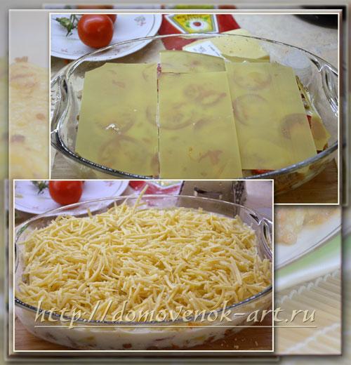 лазанья с фаршем рецепт с пошаговыми фото