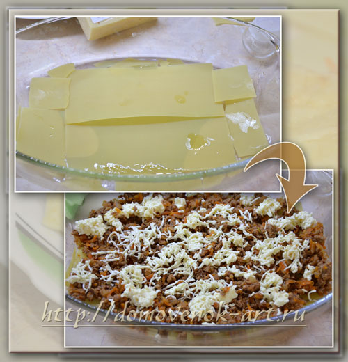 пошаговый рецепт лазаньи с фаршем как свормировать