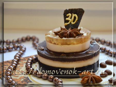 Очень красивое мыло торт своими руками