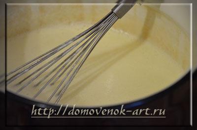 соус бешамель для овощной лазаньи