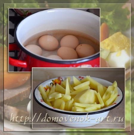 Рецепты простых салатов Охотник