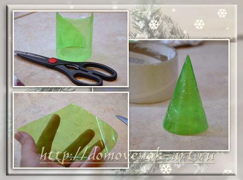 как сделать мыло елочку в форме из подручных материалов