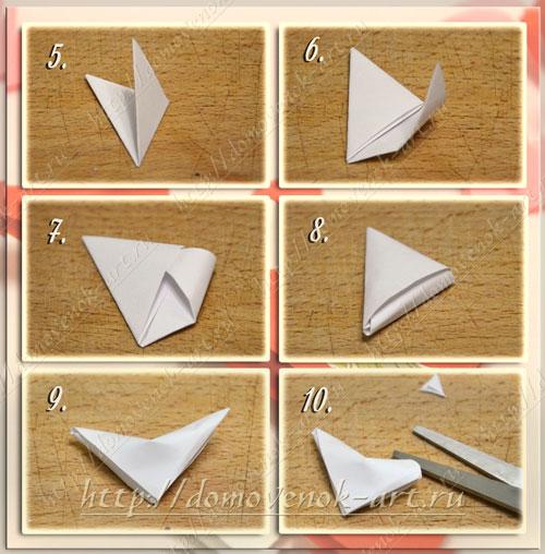 Оригами сердце из бумаги как сложить