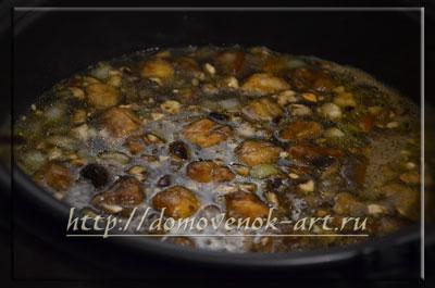 Как приготовить грибной суп в мультиварке Панасоник