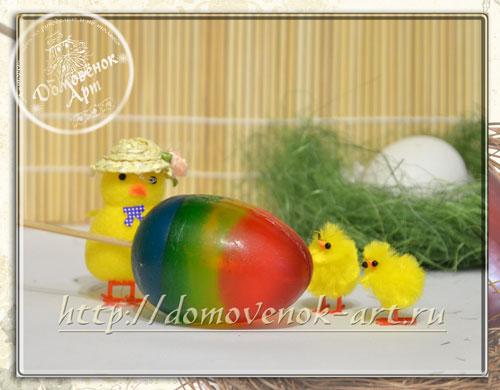 Пасхальное мыло в виде яйца