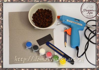 кофейные магниты материалы