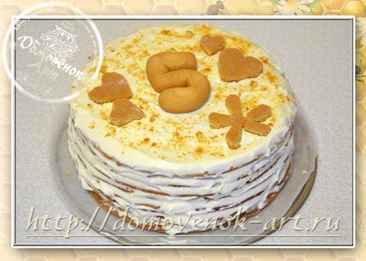 Вкуснейший торт медовик с маскарпоне