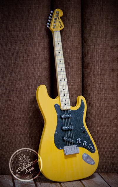 Картонная гитара Fender Stratocaster