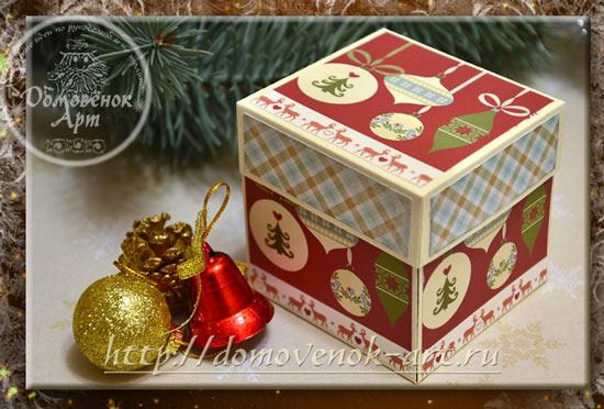 Мастер-класс Новогодний magic box
