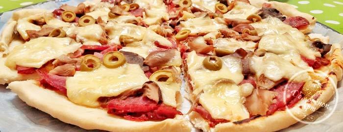 Бездрожжевое тесто для пиццы. Рецепт