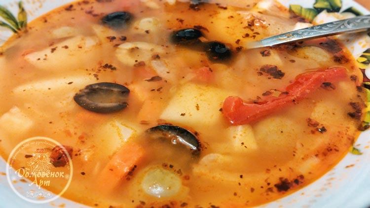 Фасолада - очень вкусный суп из фасоли