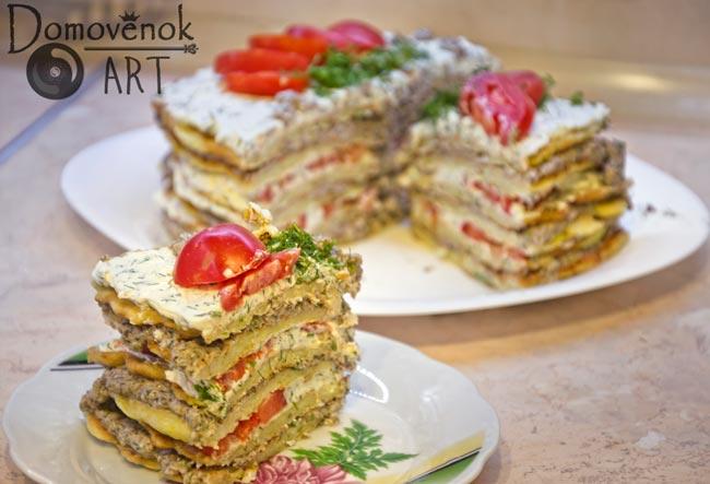 Кабачковый торт, проверенный рецепт