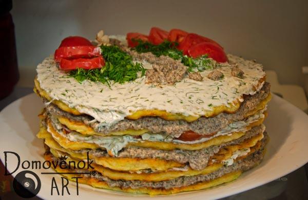Вкусный кабачковый торт. Подробный рецепт с фото