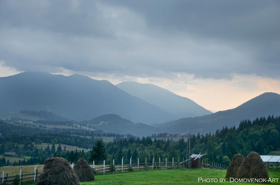 Румынские горы. Путешествие