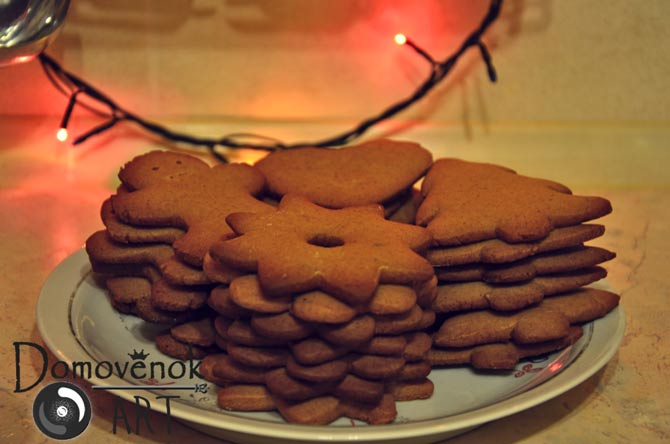 Готовим имбирное печенье