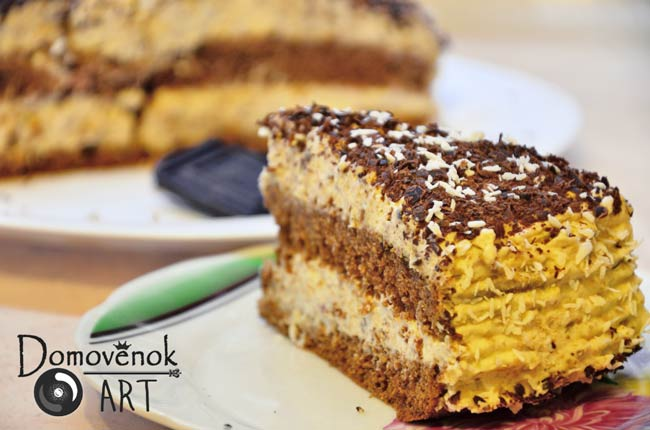 Торт сметанник без сахара в составе крема