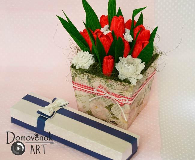 Букет хризантем из конфет своими руками. Оформление
