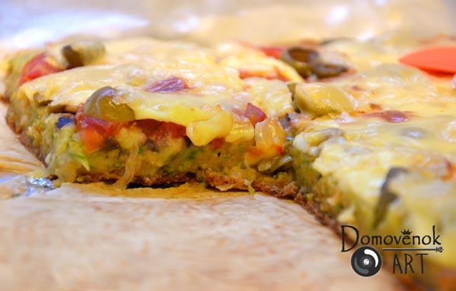 Кабачковая пицца в духовке. Рецепт