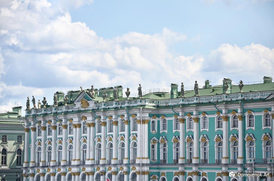 Эрмитаж снаружи. Санкт-Петербург