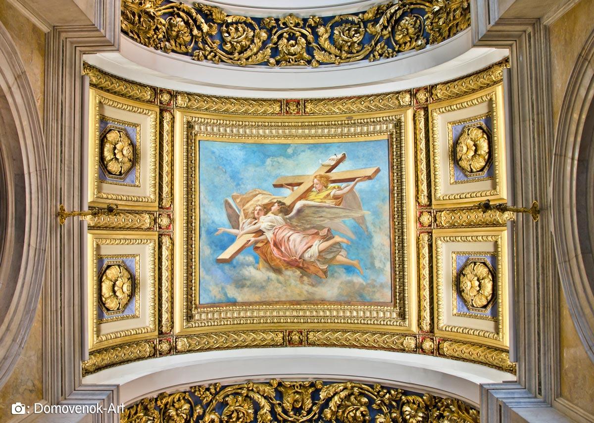 Исаакиевский собор. Потолосная роспись
