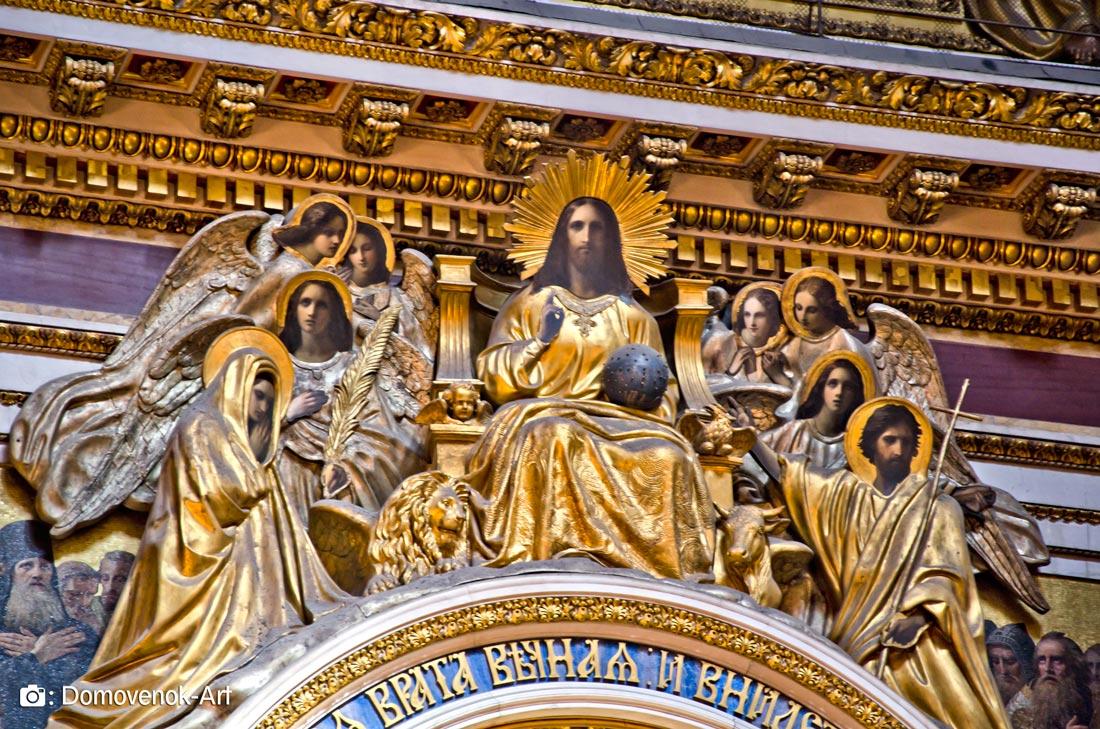 Царские врата Исаакиевского собора. Санкт-Петербург
