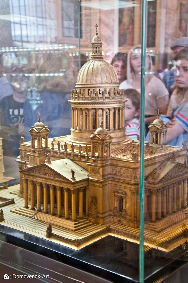Макет Исаакиевского собора 19 века