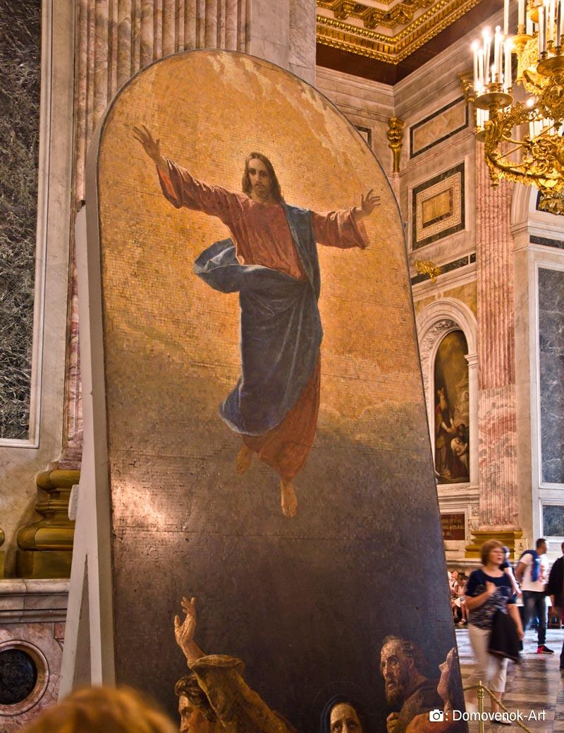 Икона Вознесение Господне в Исаакиевском соборе