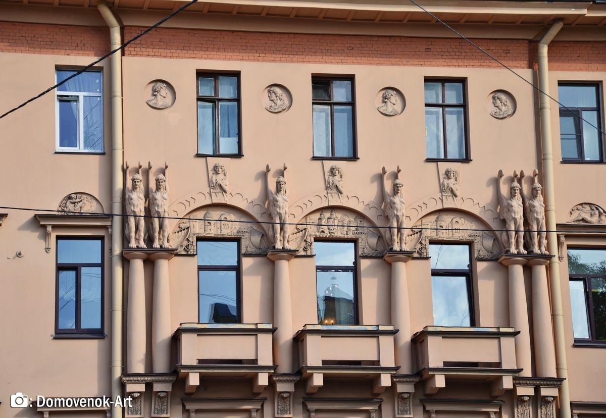 Жоходный дом Кирилловых на Петроградской стороне