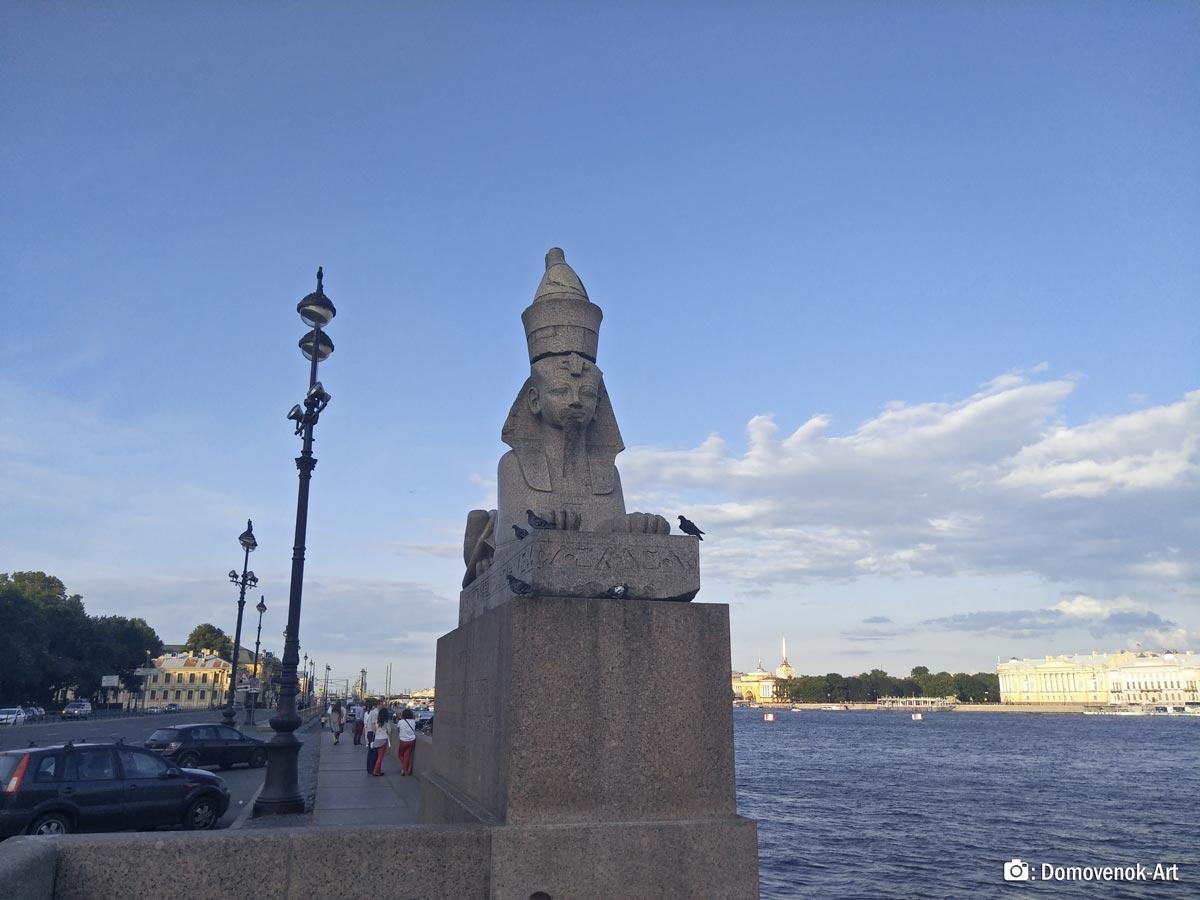 Египетский сфинкс. Санкт-Петербург