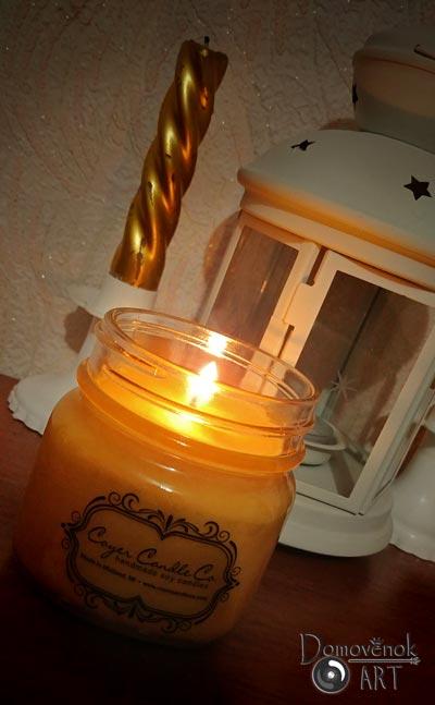Ароматная свеча в баночке