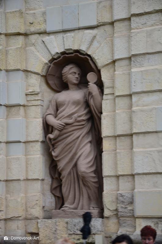 Статуя Мудрость. Петропавловская крепость
