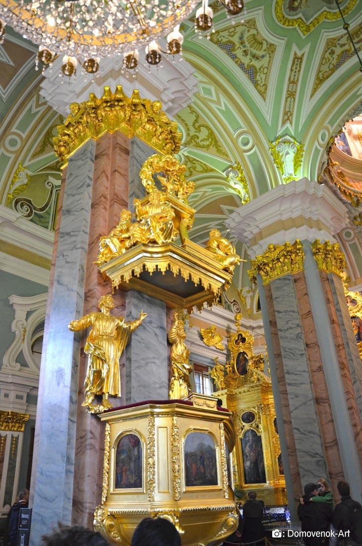 Амвон (кафедра) Петропавловского собора