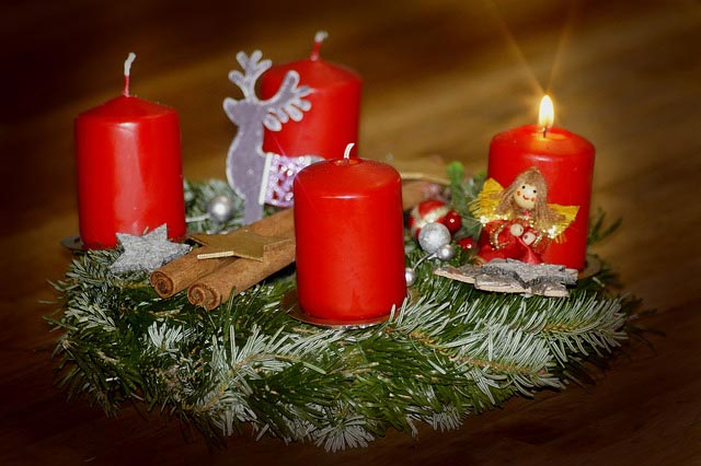 Новогодний или рождественский венок своими руками. Идеи, мастер-классы