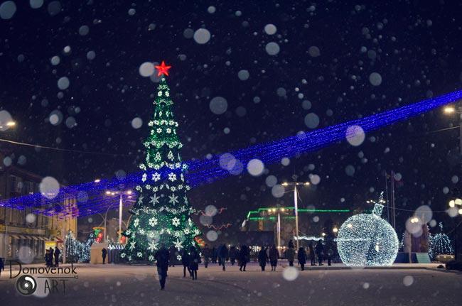 КАк вызвать снег на новый год