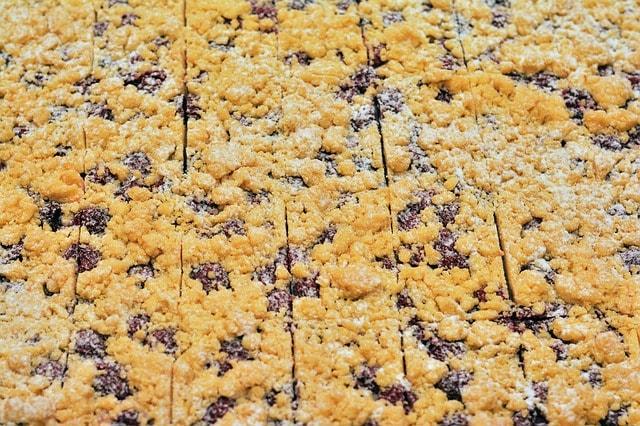 Тертое песочное печенье