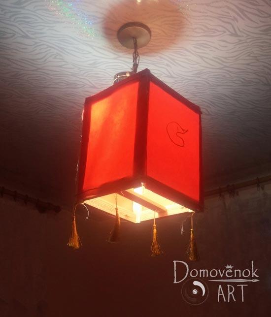 Китайский фонарик своими руками