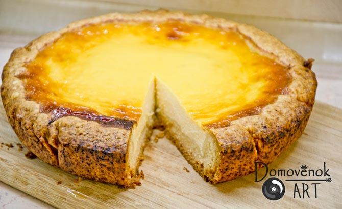Сметанный пирог чизкейк