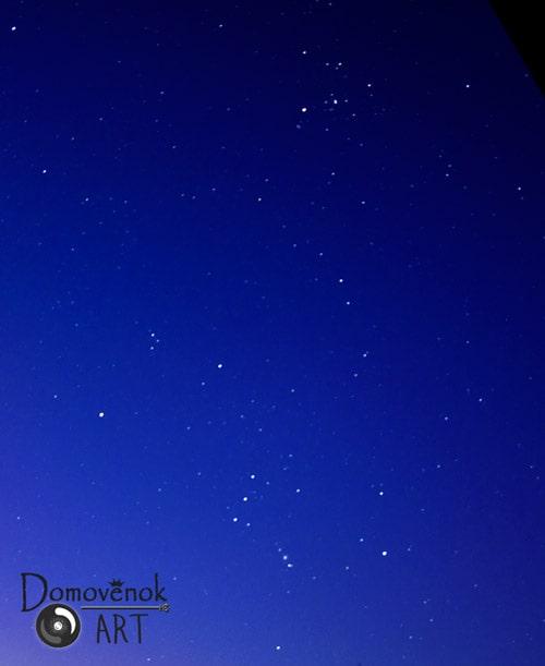 созвездия Орион и Телец
