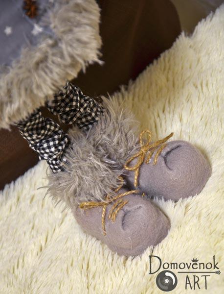 Ботиночки оленя своими руками