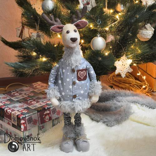 Рождественский олень под ёлку своими руками