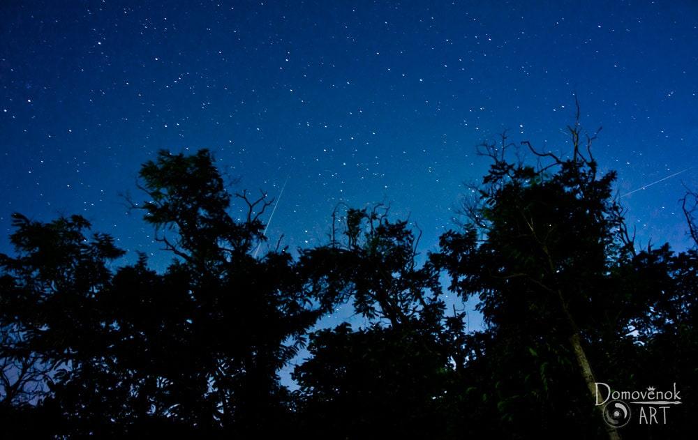 Как фотографировать звёзды фотоаппаратом