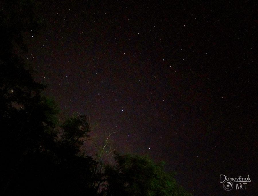 Как фотографировать звёздное небо на телефон. Созвездия